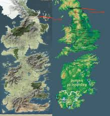Map Westeros No Spoilers A Mapped History Of A Song Of Ice And Fire