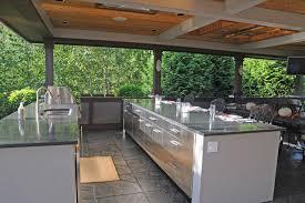 Outdoor Kitchen Covered Patio Download Covered Outdoor Kitchen Garden Design