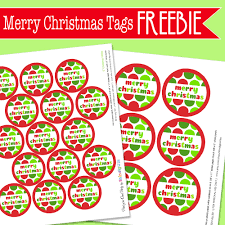 amanda u0027s parties to go free merry christmas tags and gift idea