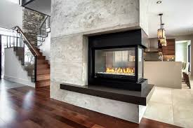 fireplaces black friday 3 sided gas fireplace family room contemporary with 3 sided