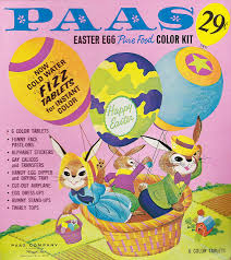 vintage paas easter egg coloring kit 1960s yep remember the