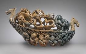 into the storm ragnarok end of days sculptures by inuit artist
