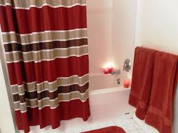 Curtains Black And Red Trend Of Red Shower Curtains And Black And Red Shower Curtain