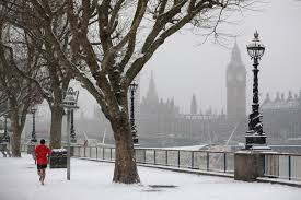uk weather forecast britain to see snowiest winter for 27 years
