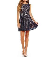 navy blue dress juniors u0027 dresses dillards com