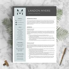 Modern Professional Resume Template Best 25 Modern Resume Template Ideas On Pinterest Modern Resume