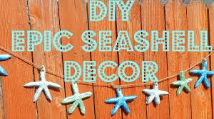 diy home decor beach starfish garland youtube