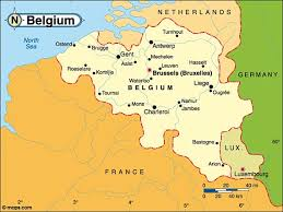 map of begium destination belgium map of belgium
