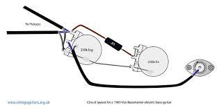 1965 vox bassmaster circuit diagram