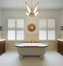 shutters vs blinds living room traditional with painted ceiling