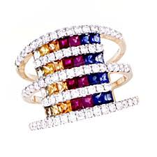 color sapphire rings images Muli color sapphire ring beverlys jewelry jpg