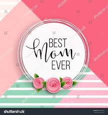 Design For by Happy Mothers Day Layout Design Roses Stock Vector 583292854