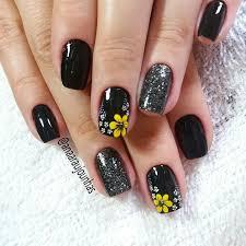 best 25 sunflower nails ideas on pinterest sunflower nail art