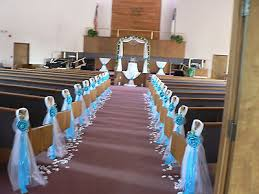 pew bows wedding decor chair bows pew bows turquoise white church
