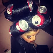 coke blowout hairstyle coke can curls hair pinterest coke