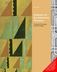 statistics for the behavioral sciences gravetter 9788131521045