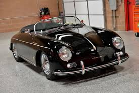 porsche classic speedster 1955 porsche speedster replica red hills rods and choppers inc