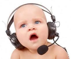 baby headset blank template imgflip