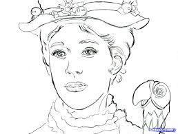 colour pages colouring pages mary poppins