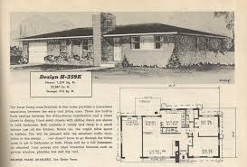 single story modern house plans mid century modern house design