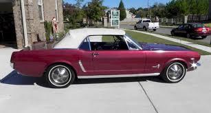 1964 Black Mustang Vintage Burgundy 1964 Ford Mustang Convertible Mustangattitude