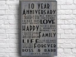 geschenk 5 hochzeitstag die besten 25 tenth anniversary gift ideen auf 10