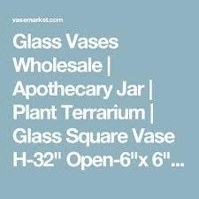Square Vase Wholesale 17 Beste Ideer Om Glass Vases Wholesale På Pinterest Egenlagde