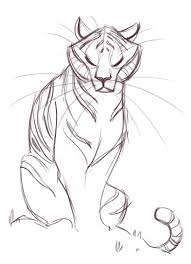181 tiger sketch i likes what they drew pinterest tiger