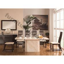 Granite Top Dining Room Table by Granite Dining Room Sets Granite Contemporary Dining Table