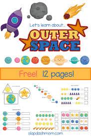 kindergarten worksheets free solar system workbook slap dash mom
