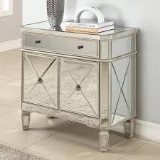 fascinating furniture silver mirror nightstand silver nightstand 3