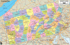 Us Zip Code Map by Pennsylvania State Maps Usa Maps Of Pennsylvania Pa The Us