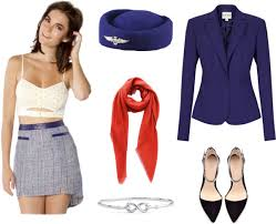 Halloween Flight Attendant Costume Diy Halloween Costume Ideas