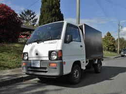 kei truck seattle u0027s parked cars 1990 subaru sambar 4wd