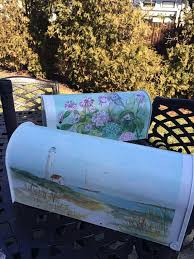 Nautical Themed Mailboxes - 44 best artful mailboxes images on pinterest hand painted