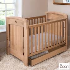 Boori Sleigh Cot Bed Boori Classic Royale Cot Bed In Almond Deluxe Mattress Tidy
