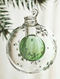 scented ornament fill with evergreen fragrance to fool