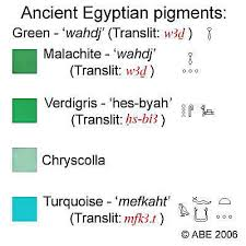 colors of ancient egypt