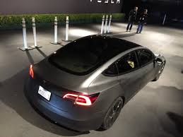 tesla model 3 timing confirmed first cars in july 5k a week by