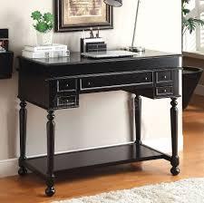 Secretary Desk Black by Crosley Kf65001bk Sullivan Secretary Desk In Black Finish Within