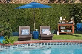 California Backyard A California Backyard Gets Pool Party Ready Decorist