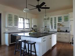 kitchen ceiling fan ideas kitchen rustic beach house normabudden com