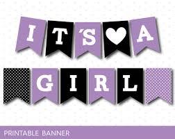 purple banner black banner oh baby banner oh banner