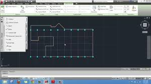 creating a layout grid on autocad architecture youtube
