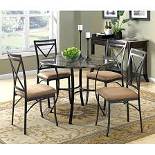 4 person table set dining table set 5 pc with chairs for 4 person kitchen round vintage