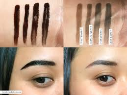 tattoo eyebrows by maybelline beauty bucketeer maybelline tattoo brow gel tint review beauty