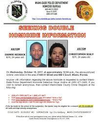 Seeking Miami Miami Dade On Seeking Info On 10 18 17 Dionte