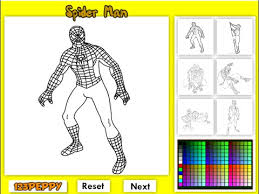 spiderman coloring pages kids spiderman coloring pages games