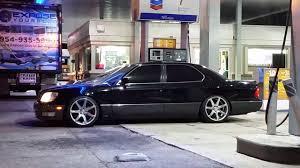 lexus ls parkers 1998 ls 400 lexus bagged on vossen cv7 youtube