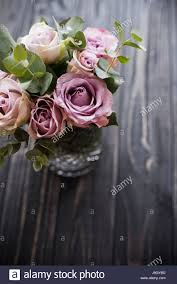 Mauve Color by Pastel Purple Mauve Color Fresh Summer Roses In Vase With Black